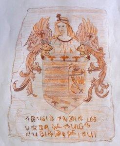 erb z expozície Miklušova väznica - Košické storočia - Katov byt